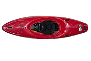 Magnum 72 Riot Kayaks Red 7ft Whitewater Creeking Kayak