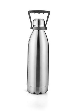 RJM - Botella de agua caliente y fría (acero inoxidable ...