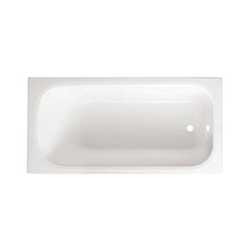 GUSCIO VASCA BAGNO RETTANGOLARE BIANCA Modello SMERALDO 105 x 70 senza Pannello GLASS