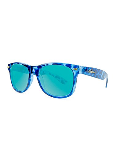 Knockaround Fort Knocks Polarized Sunglasses, Glossy Blue Tortoise Shell / - Tortoise Sunglasses Blue