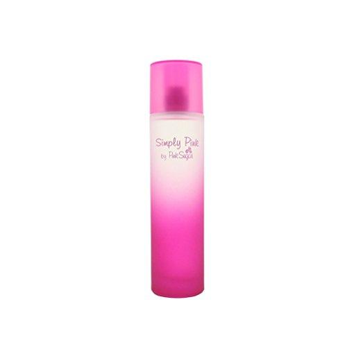 Aquolina Sugar Simply Pink Eau De Toilette Spray for Women, 3.4 Ounce ()