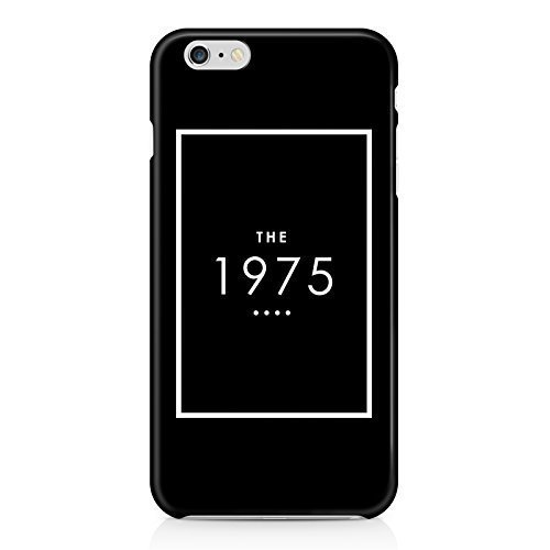 The 1975 Black Logo Hard Plastic Snap-On Case Cover For iPhone 6