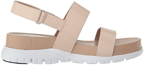Cole Haan Women's Zerogrand Slide Sandal, Floral Print-Optic White, 7.5 UK Sandshell