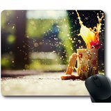 Fashion Design Food and Drink Series-Coffee Bokeh Oblong Mouse Pads/ Standard Rectangle (R02 Series)