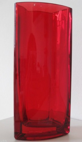 Ikea Red Glass Vases Somrig Set Of 5 Amazon Kitchen Home