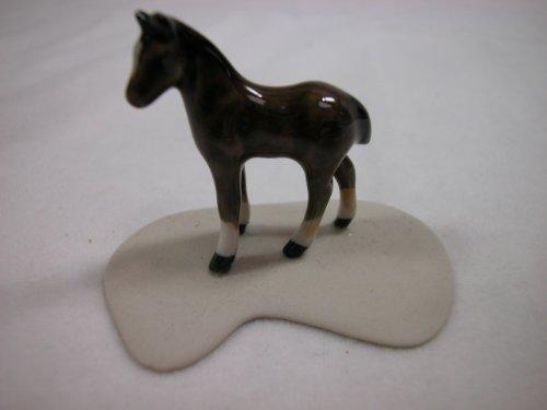 906 Miniature (Miniature Porcelain Animals Chestnut Colt #906)