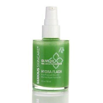 Serious Skincare Olive Oil Hydra Flash Marine Algae Hydra Gel 2 Fl Oz by Serious Skincare