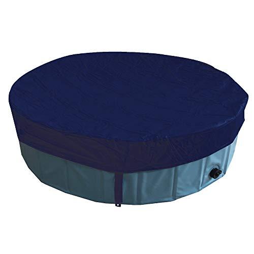 Croci Cubierta para Piscina para Perros, PVC Impermeable Y Resistente, Forma Circular 1000 g