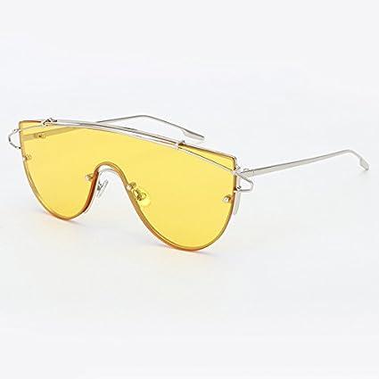Burenqi@ Gafas de Sol Mujer Marco de aleación de ...