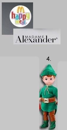 Happy Meal Madame Alexander Peter Pan #4 (Madame Alexander Peter Pan)