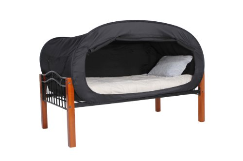 Privacy Pop Bed Tent Twin Bunk Black Buy Online In