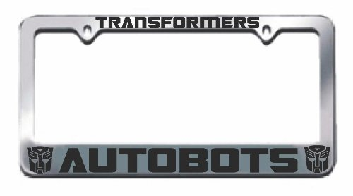 Autobots License Plate Frame