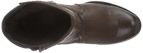 bugatti V52321G1R - Botas de cuero para mujer marrón - marrón (marrón oscuro 610)