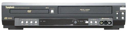 Symphonic WF803 DVD/VCR Combo