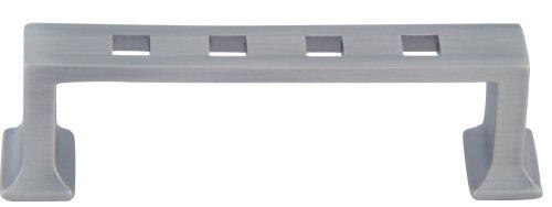 Atlas Homewares Craftsman Knob - Atlas Homewares 250-P 3-1/4-Inch Craftsman Corner Modern Craftsman Pull, Pewter