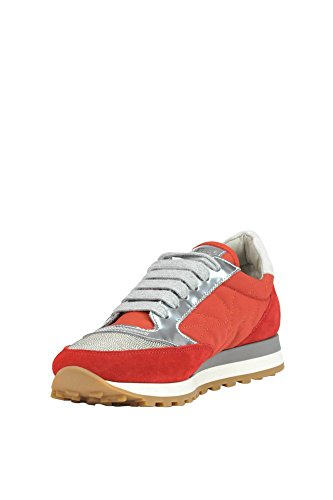 BRUNELLO CUCINELLI Women's MCGLCAK03048E Red Suede Sneakers buy cheap 2014 new sale store cheap sale professional free shipping low price yNmosPlk