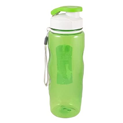 eDealMax Té Para colgar botellas de plástico del filtro de agua 700ML Verde Claro
