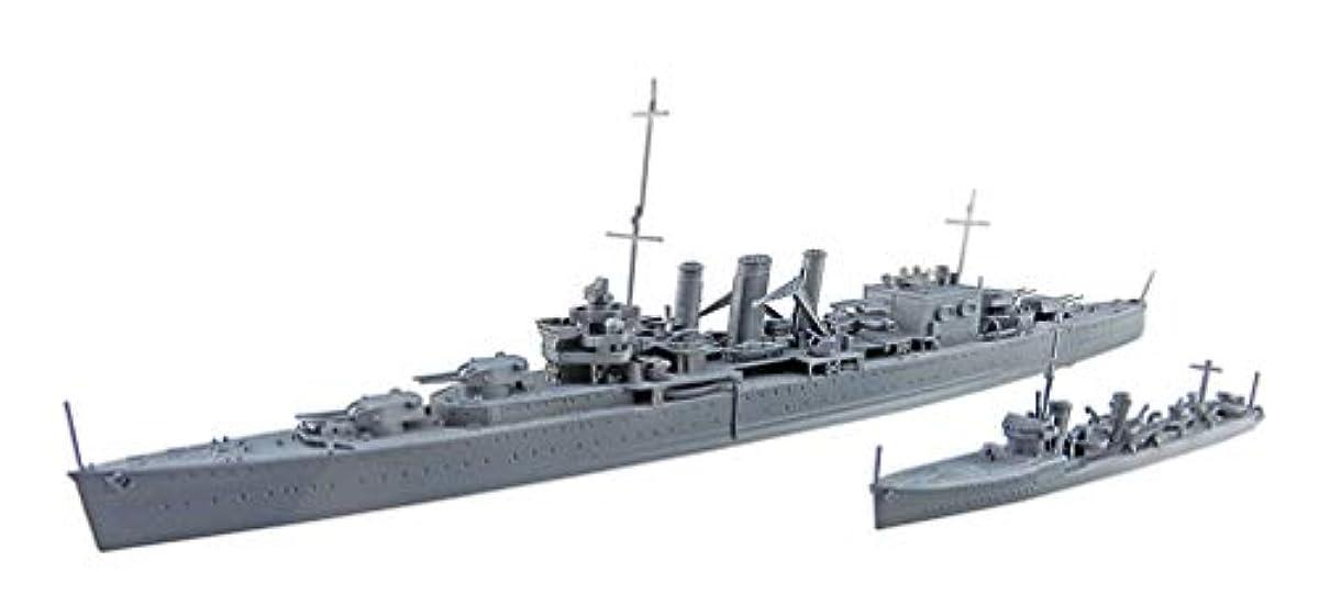 [해외] 청도(아오시마) 문화 교재사 1/700 워터 라인 시리즈 영국군 중순양군함 콘 wall 인도양 실론충 해전 프라모델 (메이커 첫회 수주 한정 생산)