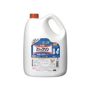 (まとめ)トイレマジックリン 消臭洗浄スプレー 業務用 4.5L 4本 ds-973702 B01CXELT3M
