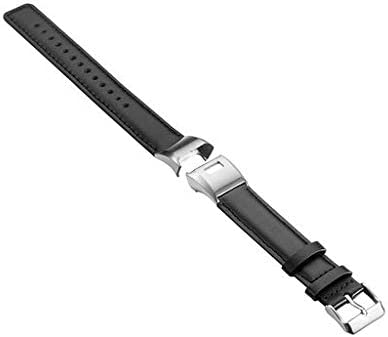 Fashion Sport Soft Genuine Leather Band Strap Bracelet Wirstband Replacement Band Compatible with Garmin Vivosmart HR+3 Smart Watch. Watch Lyperkin Compatible with Garmin Vivosmart HR