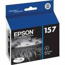 OEM Epson 157 (T157820) Matte Black UltraChrome K3 Ink Cartridge [Electronics] for Stylus Photo R3000 Printers -