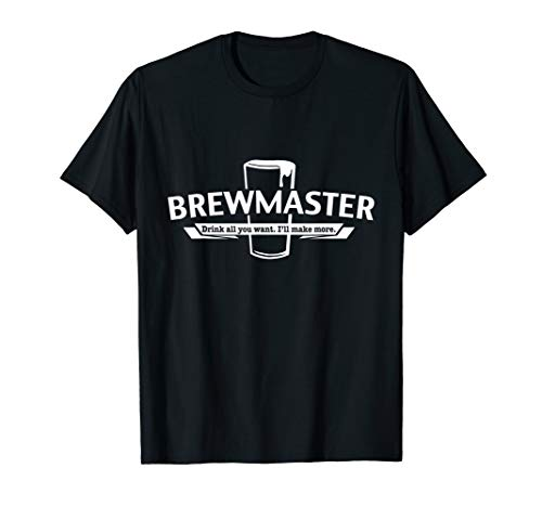 Brewmaster - Craft Beer Home Brewing Brewer Gift T-Shirt
