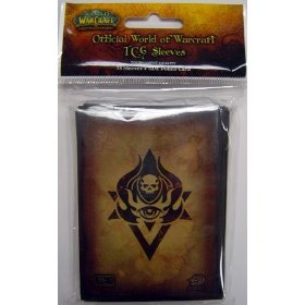 World of Warcraft Trading Card Game Card Supplies 75 Count Card Sleeves (Neutral Style)