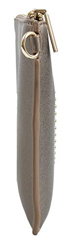 Versace EE3VSBPR9 E966 Gunmetal Clutch for Womens