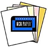 125 Sets of 4 Part NCR Paper, 01932, White, Canary, Pink, Gold--Reverse Collated Letter Size Carbonless Paper (500 Sheets) Appleton