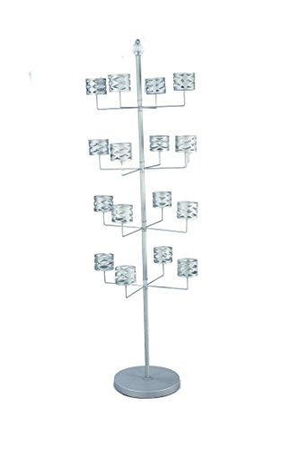 Tripar 49015 Versattach 4-Tier Hat Tree with Round Base, 68