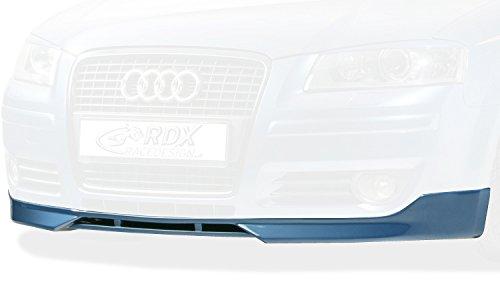 Front spoiler Audi A3 8P Sportback 04- + 3 doors 2005- (ABS) RDX Racedesign RDFA002