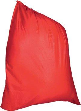 Rubie's Velour Santa Bag, Red, One -