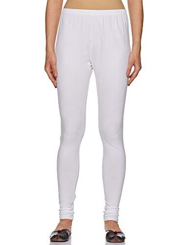 Lux Lyra Women's White Churidar Leggings MF-40