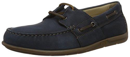 ECCO Men Classic Moc 2.0 Boat Shoes Blue (2058navy)
