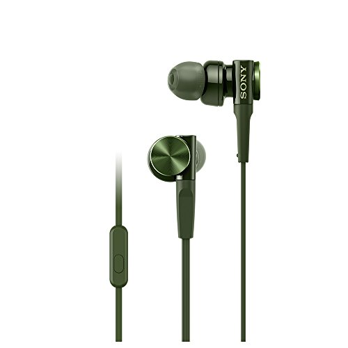 SONY Sealed Type Inner Ear Receiver MDR-XB75AP G (GREEN)【Japan Domestic genuine products】 by Sony