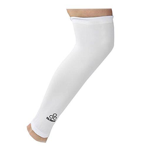 Mcdavid Classic 6570 Power Leg Sleeve White Small (Single Sleeve) by McDavid