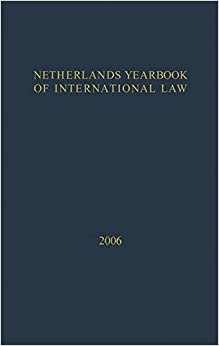 Netherlands Yearbook of International Law: Volume 37, 2006