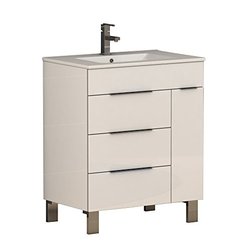 (Eviva Geminis Bathroom Vanity,)