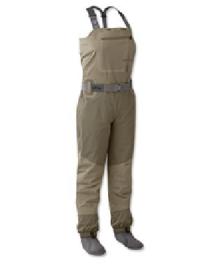 Orvis Fly Fishing Silver Sonic Convertible Top Wader - Women's