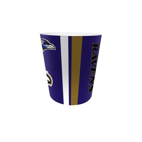 The Northwest Company Baltimore Ravens Bathroom Wastebasket