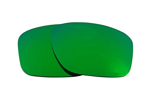 SEEK Replacement Lenses Compatible with Oakley Mainlink Polarized Green -