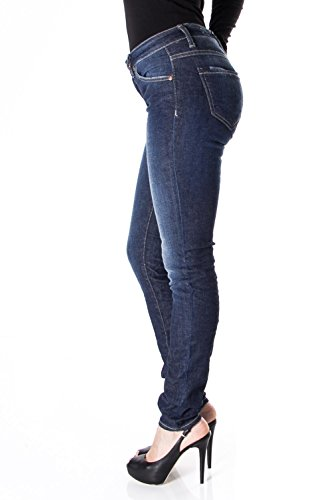 JEANS STRETCH P95HEN3DQ4 RIDE PLEASE Fonc SKINNY FEMME P95 Denim wzdUaE