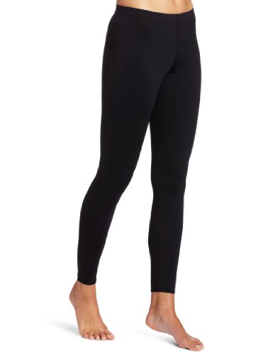 Womens Elite Pant (Hot Chillys Women's Micro-Elite Chamois 8K  Ankle Tight - Available in Can, Black, Medium)