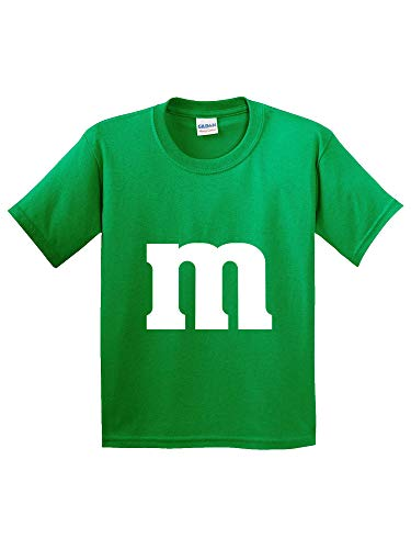 (New Way 977 - Youth T-Shirt M Letter Logo Parody Funny Humor Small Kelly Green)
