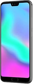 "Honor 10 Smartphone Nero, 4G LTE, Display 5.8"" FHD+, Kirin 970 Octa-Core, 4GB RAM, Doppia Fotocamera"