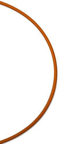 Koch Industries 022131 7 x 7 Vinyl Coated Galvanized Cable, 1/8-3/16-Inch by 125-Feet, 3.5-Inch Reel, Orange by Koch Industries