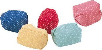 5 colors of beanbags (japan import)