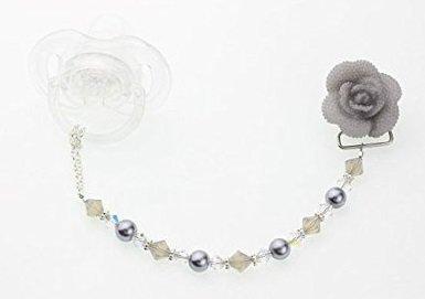 Crystal Dream lujo rosa con perlas y cristal de Swarovski para el ...