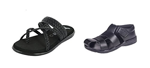 Essence Prefect Combo Pack Of Sandal And Sleppers