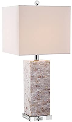 Safavieh Lighting Collection Homer Shell 26-inch Table Lamp